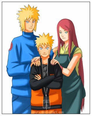 les parent de naruto