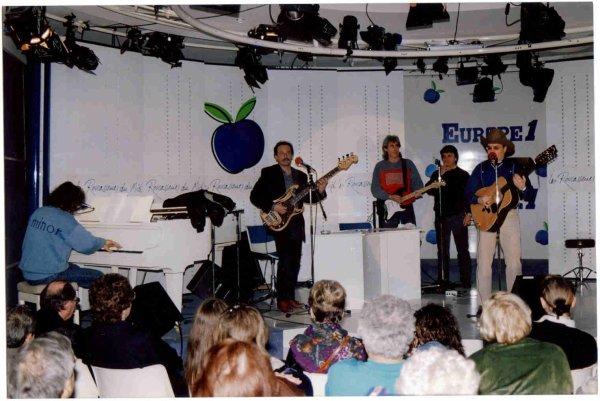 Orville NASH passage sur EUROPE 1 Décembre 1990