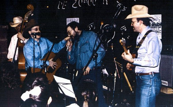 Orville NASH avec Buddy CHESMAN , Simon ECHELARD et Lionel PUJOL 1992