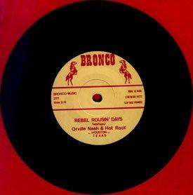 Discographie d'Orville NASH ! Premier single sur Label BRONCO 1989