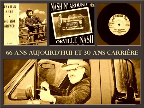 Orville NASH 66 ans aujourd'hui