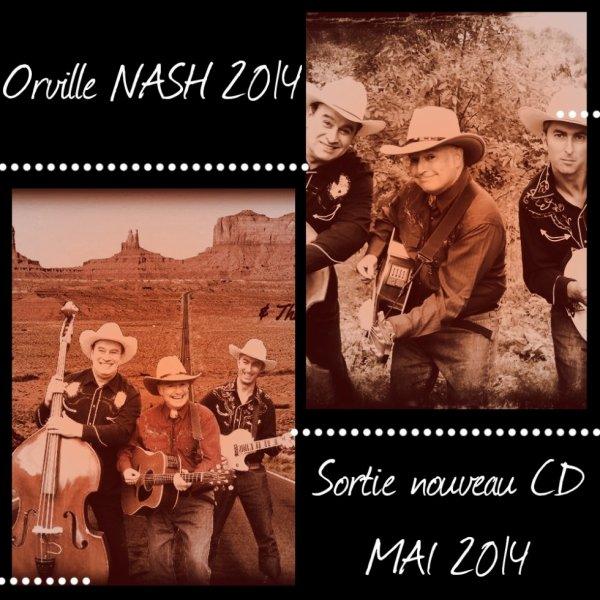 Bientôt le nouveau CD D'Orville NASH