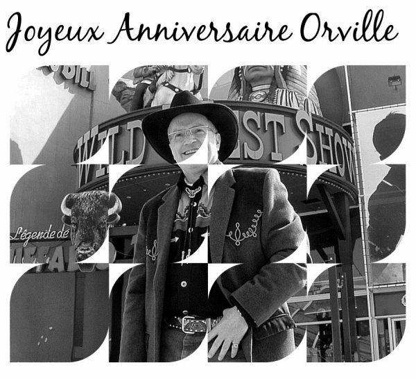 Anniversaire D'Orville le 4 Août 2014