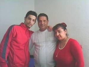 Mon frère Juan mon père et moi