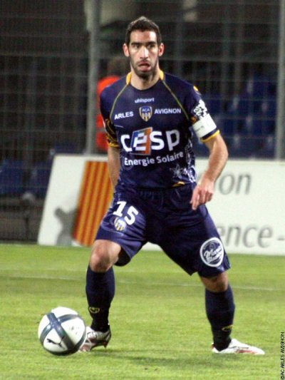 Fabien Laurenti capitaine en l'absence de Piocelle a livrer un très gros match !
