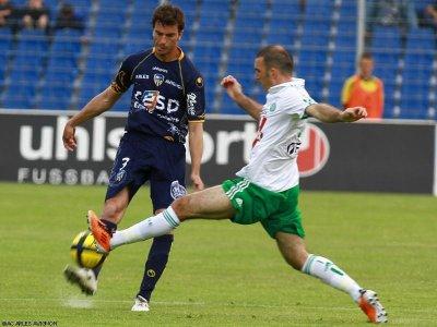 Arles-Avignon s'incline face a St Etienne sous le score de 1 a 0