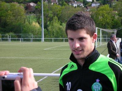 Entrainement St Etienne saison 2007-2008