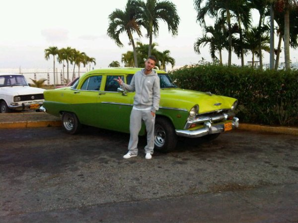 Photo M.Pokora à Cuba: