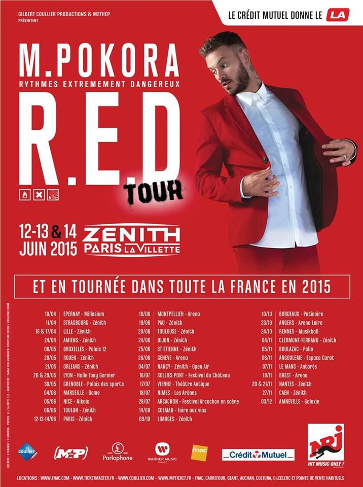 Tournée Red Tour 2015!!!