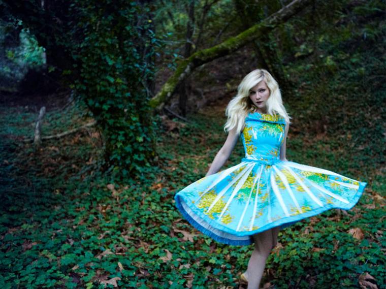 Kirsten Dunst  for Vogue Italia February 2012