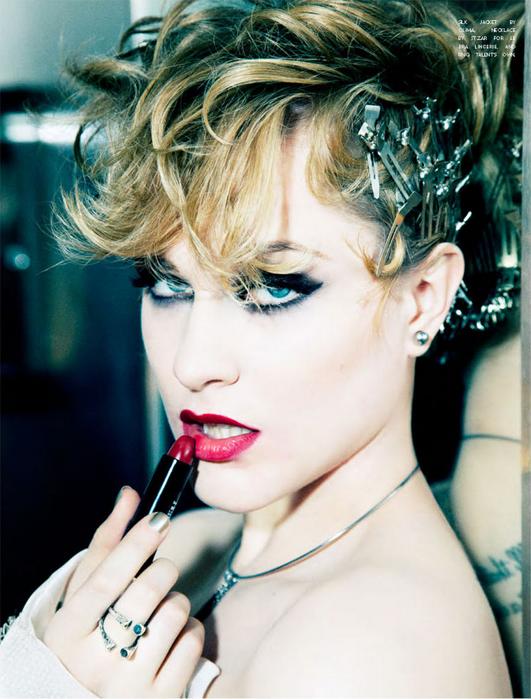 Evan Rachel Wood for Flaunt January 2012