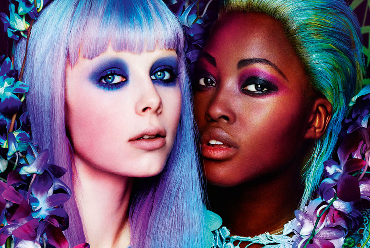 Edie Campbell & Nyasha Matonhodze for Allure March 2012