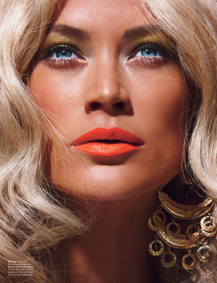 Carolyn Murphy for W April 2012