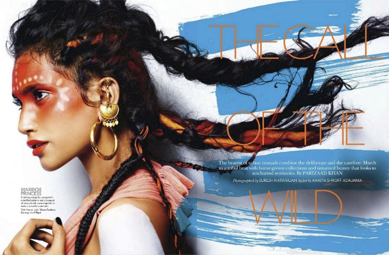 Preeti Dhata & Ninja Singh for Vogue India March 2012