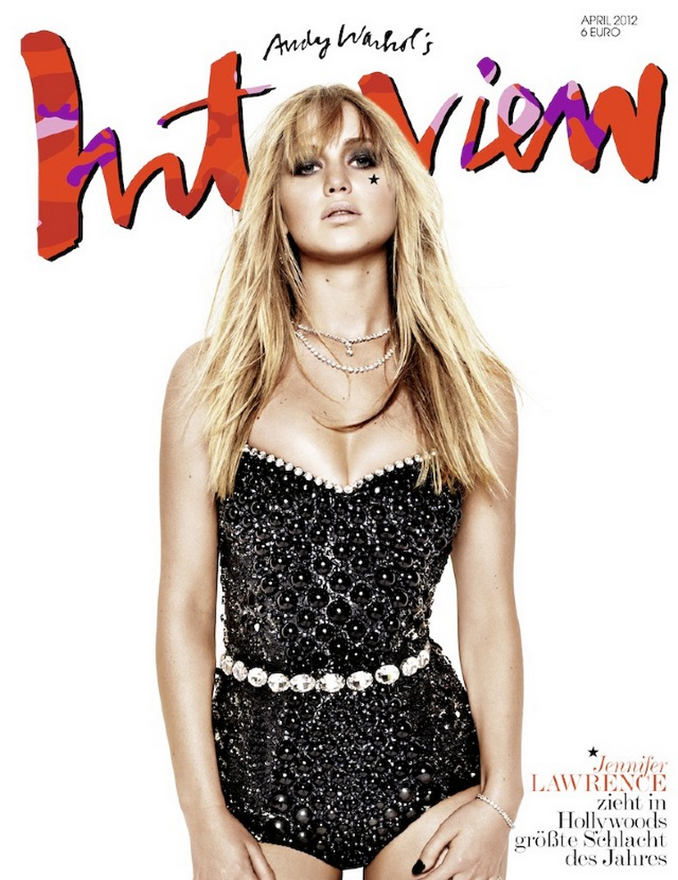 Jennifer Lawrence for Interview Germany April 2012
