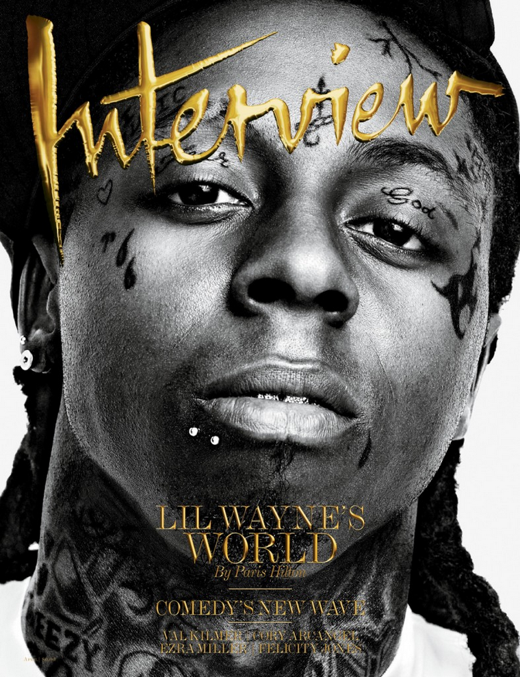 Lil' Wayne for Interview April 2011