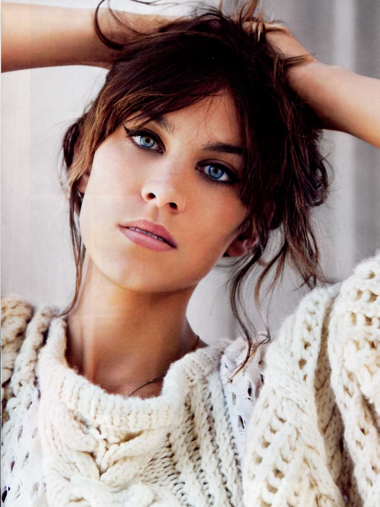 Alexa Chung for Vogue USA August 2011