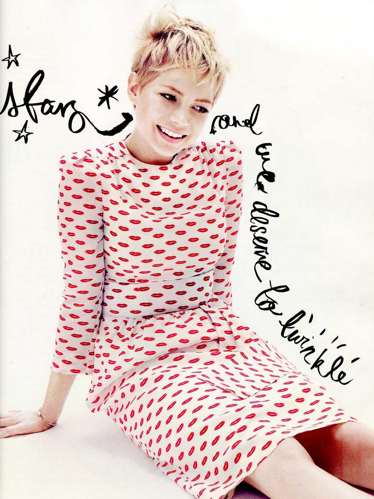 Michelle Williams for Elle UK  December 2011