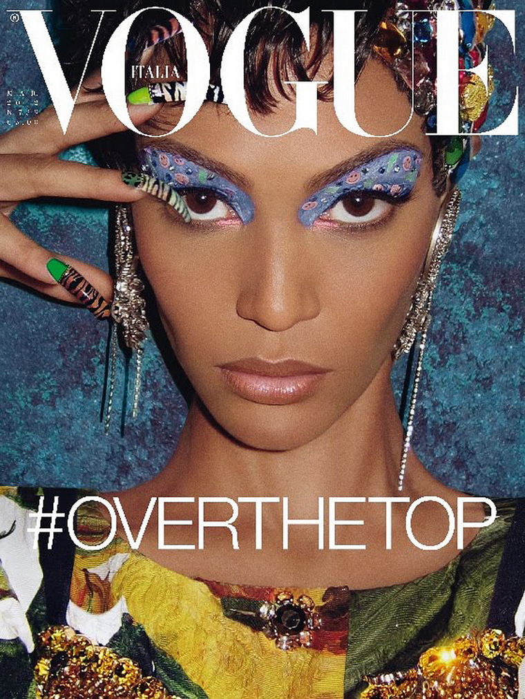 Joan Smalls for Vogue Italia March 2012