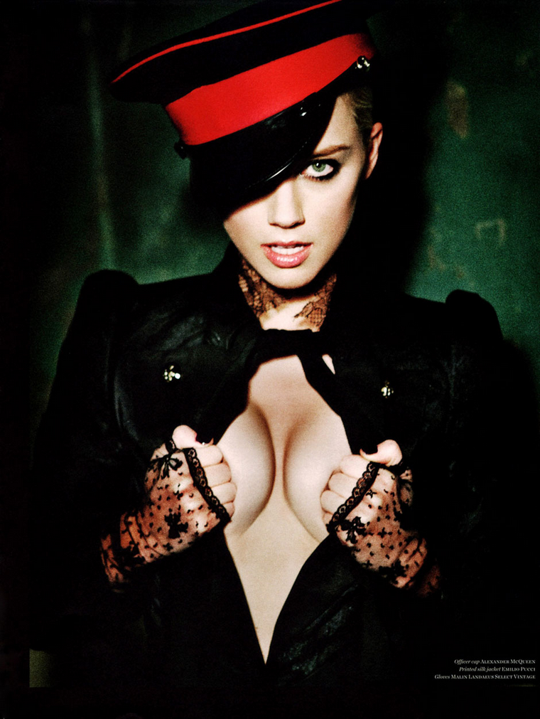 Amber Heard  for Vs Magazine F/W 2011