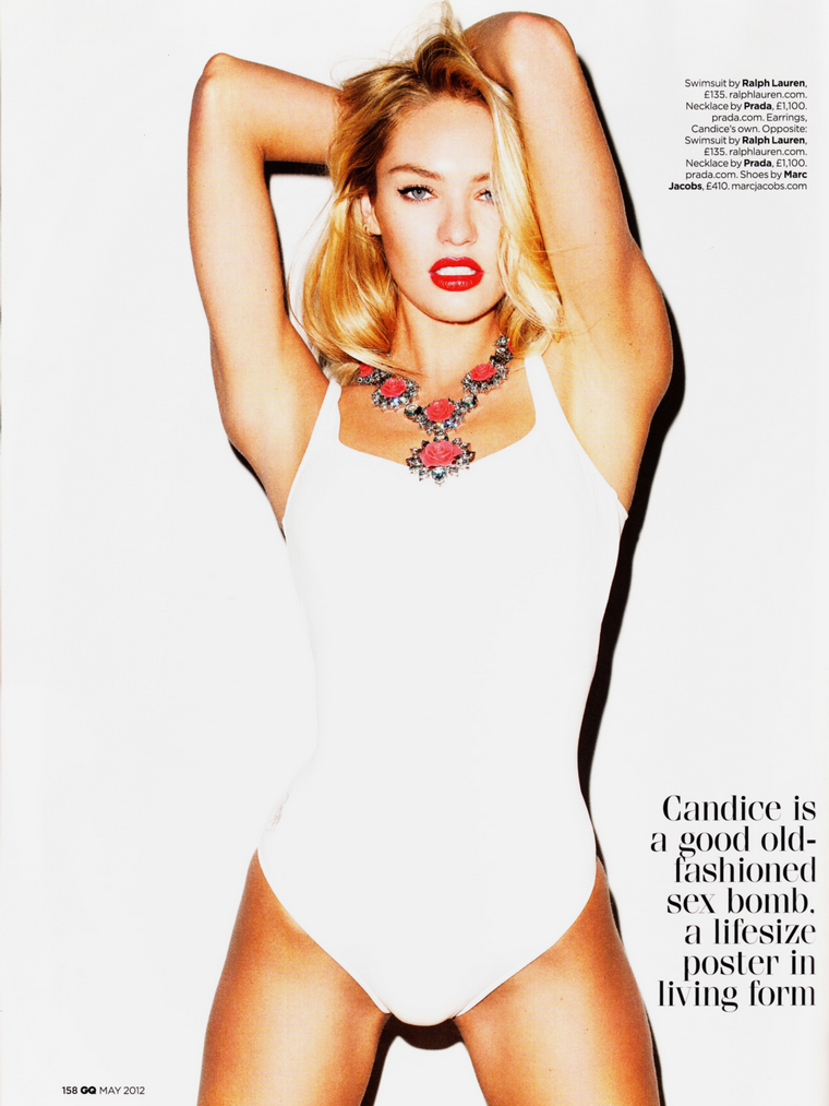 Candice Swanepoel for GQ (UK) May 2012
