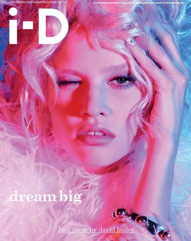 Lara Stone for i-D Magazine September  2011