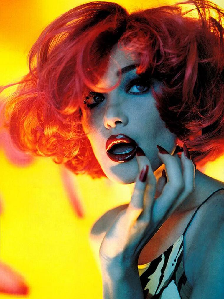 Carla Bruni for Vogue Italia 1996