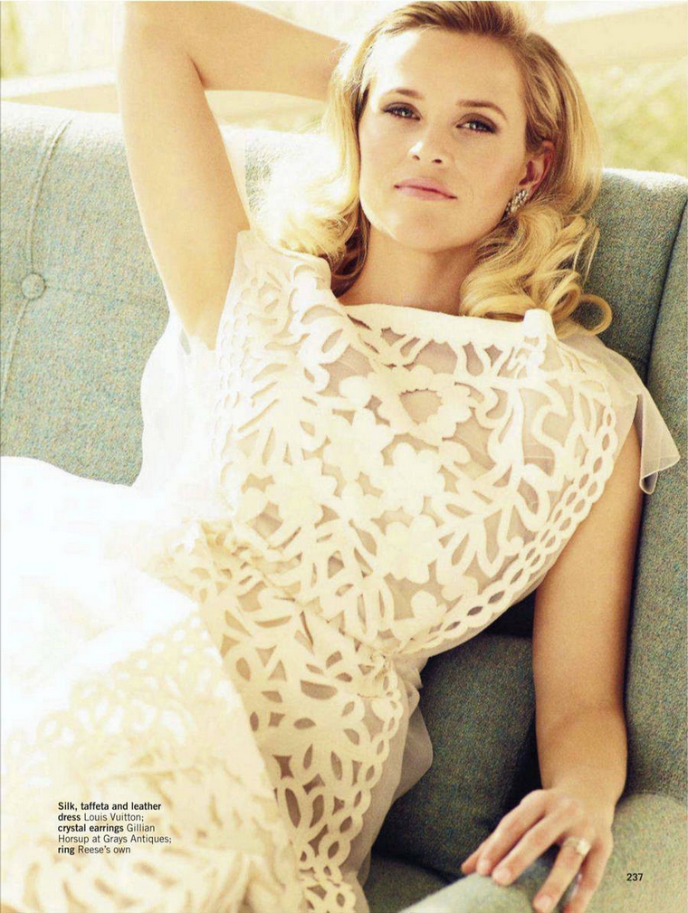 Reese Witherspoon for Glamour UK March 2012