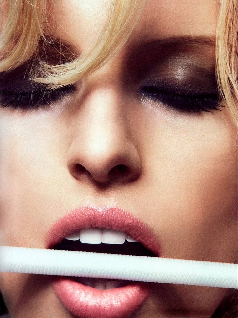 Karolina Kurkova for GQ Germany April 2012