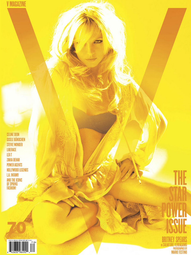 Britney Spears for V Magazine 2011