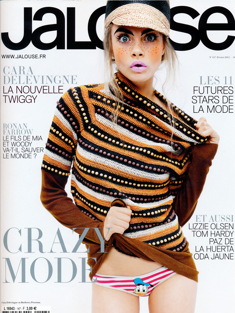 Cara Delevingne for Jalouse February 2012