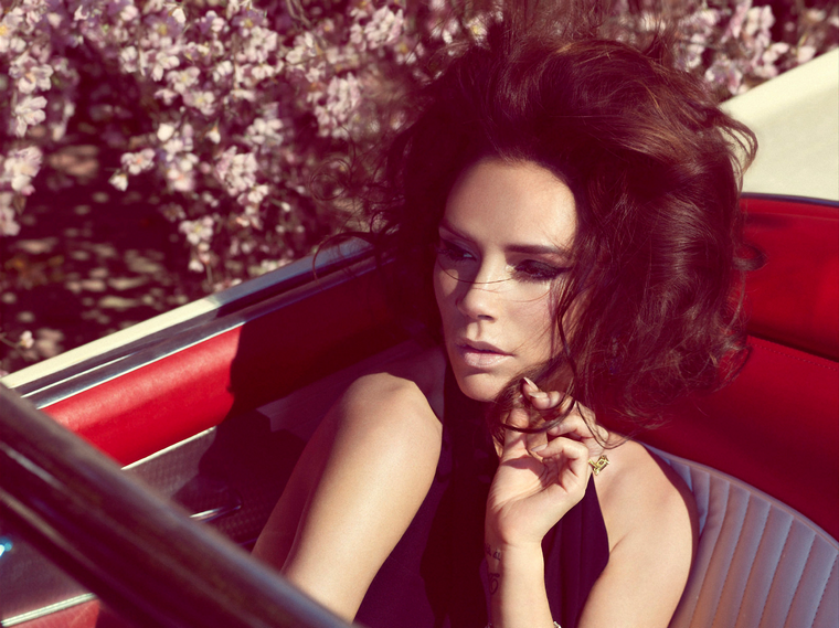 Victoria Beckham for Harper's Bazaar UK  May 2012