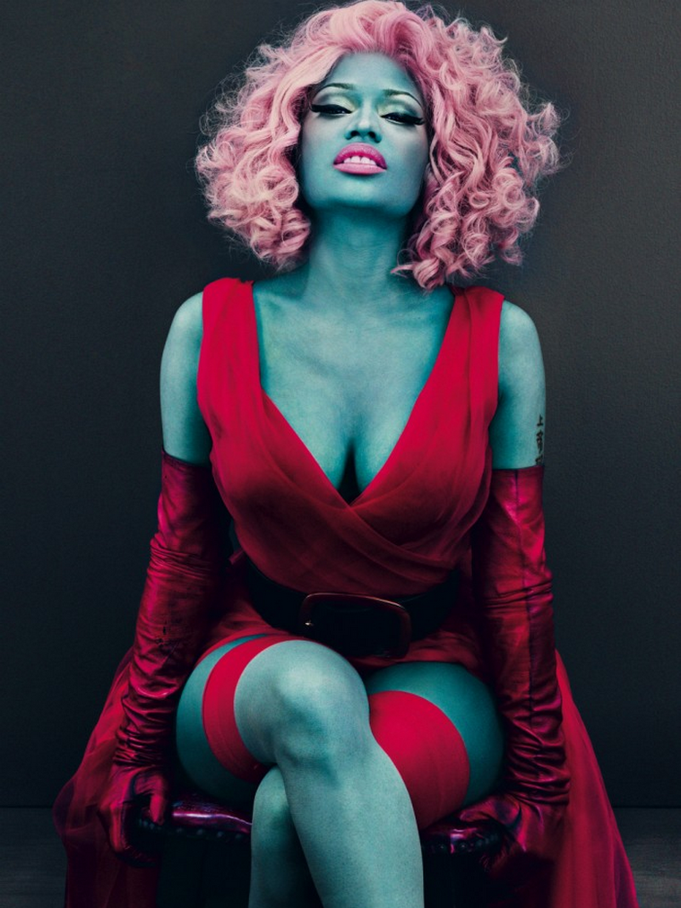 Nicki Minaj for Vogue US March 2012