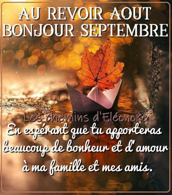Mois de Septembre