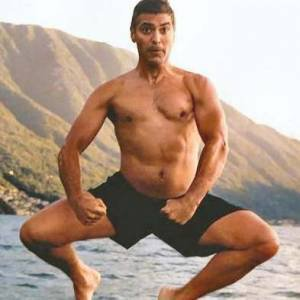 George clooney photos nues