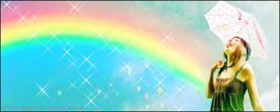 Il faut de la pluie pour voir toutes les couleurs de l'arc-en-ciel.. Ca ne marche pas toujours