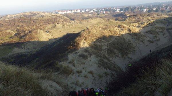 Entre sable mou et sable dur : Trail D2B -19.01.13-