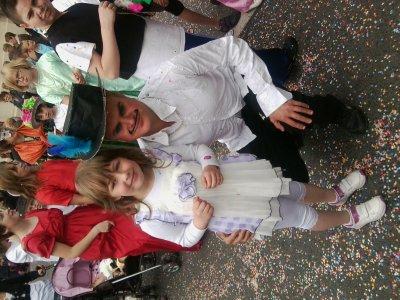 ma fille avec mon amie