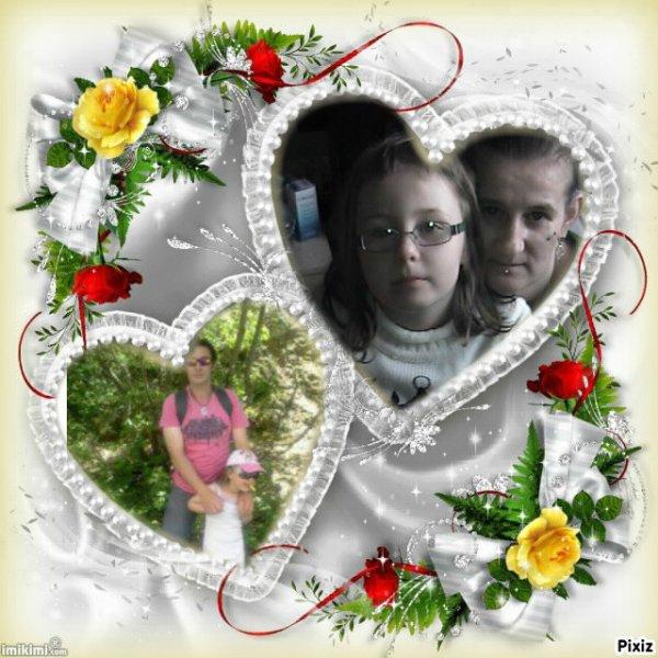 moi et ma file et son pere avec sa fille