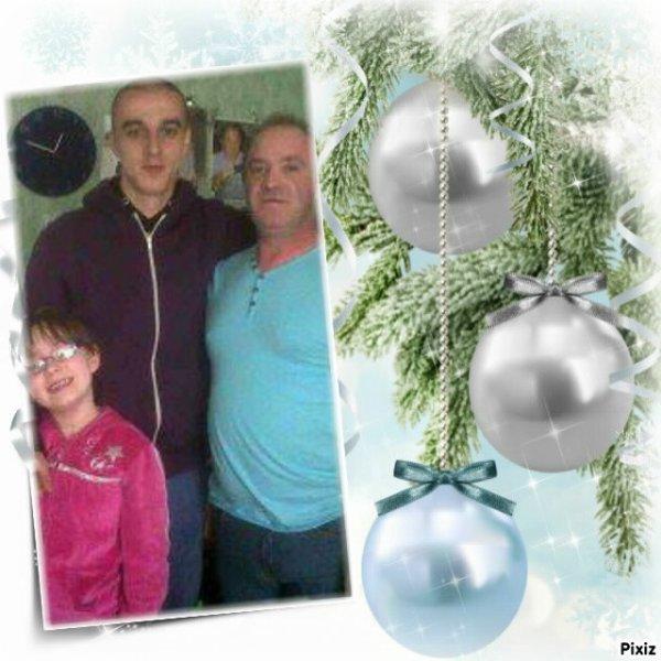 mon homme et ma fille et mon fil