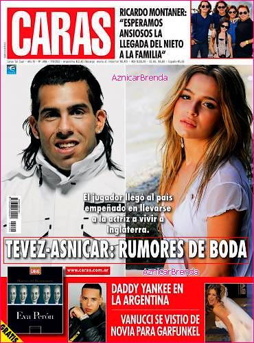 """Brenda fait la couverture du journal Caras : """" TEVEZ ET BRENDA RUMEUR DE MARIAGE ! 3"""