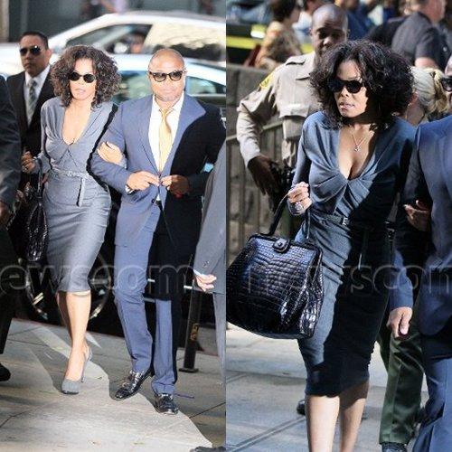 Janet et Randy au procès 03/09/2011