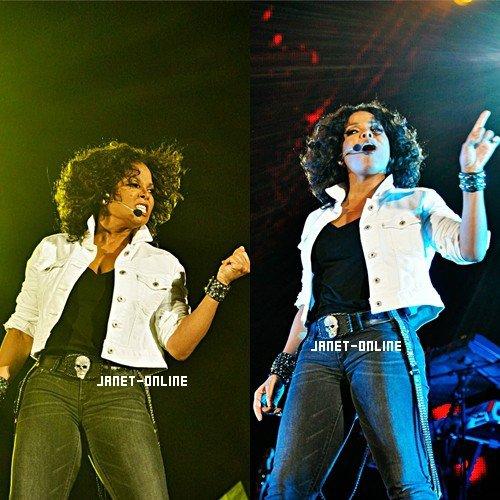 Vidéo des répétitions du concert + La performance de Janet à Abu Dhabi
