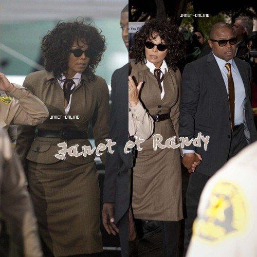 Janet & Randy au procès 25/10/2011