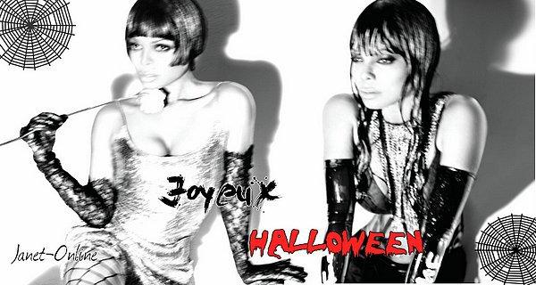 Joyeux Halloween sur Janet-Online