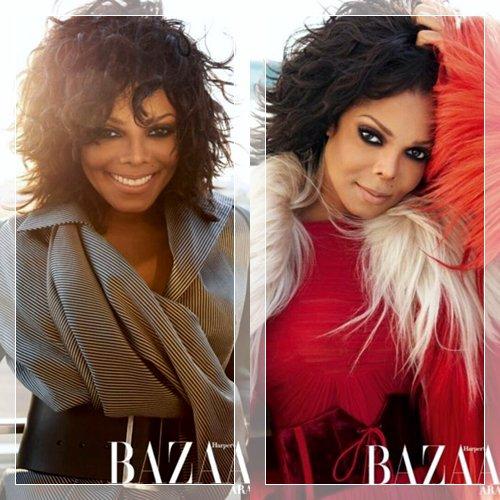 """Janet en couverture du magazine """"Bazaar"""" 2011"""