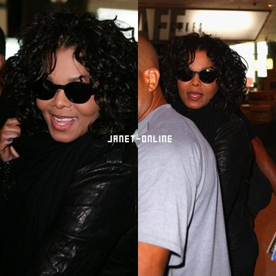 Janet de retour en Australie