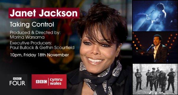 Une nouvelle photo de Janet + Un documentaire à la télé américaine