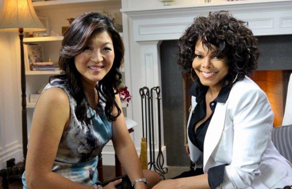 "Interview de Janet pour ""Good Morning"" America"""