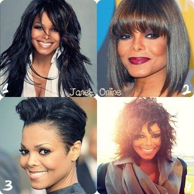 Sondage : coiffures de Janet
